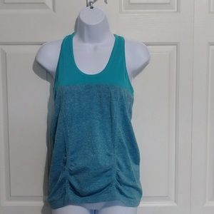 Athleta T-Back Tank Top - Teal